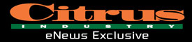 This Citrus Industry eNews Exclusive masthead represents the electronic newsletter now being sent weekly to growers and industry