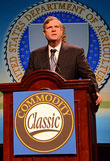 Secretary Tom Vilsack speaking at the 2013 Commodity Classic